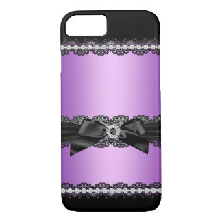 Coque iPhone 7 Cas Girly de parties scintillantes de jewell