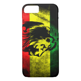 Coque iPhone 7 Cas grunge urbain de l'iPhone 7 de drapeau de
