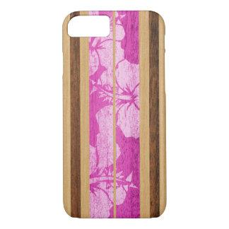 Coque iPhone 7 Cas hawaïen de l'iPhone 7 de planche de surf de