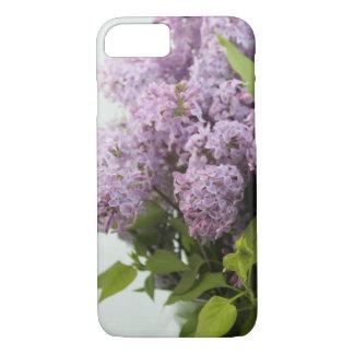 Coque iPhone 7 Cas lilas de ressort