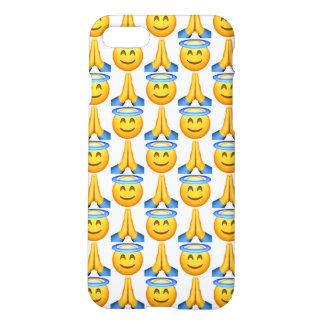 Coque iPhone 7 Cas mat de l'iPhone 7 d'Emoji de ciel