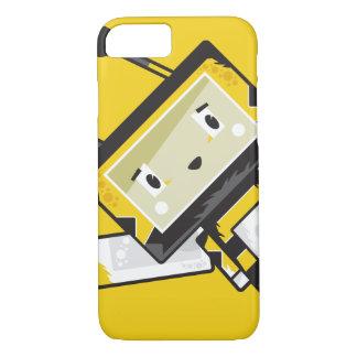 Coque iPhone 7 Cas mignon de téléphone d'abeille de Blockimals de