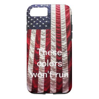 Coque iPhone 7 Cas patriotique de téléphone