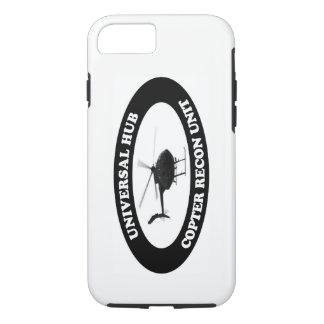 Coque iPhone 7 Cas reconditionné d'unité d'hélicoptère universel