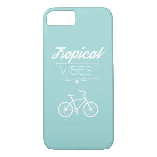 Coque iPhone 7 Cas tropical de l'iPhone 7 de vibraphone