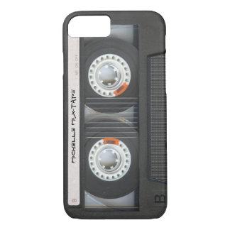Coque iPhone 7 Cassette faite sur commande Mixtape