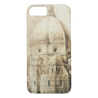 Coque iPhone 7 Cathédrale de Florence de l'est, des 'fragments