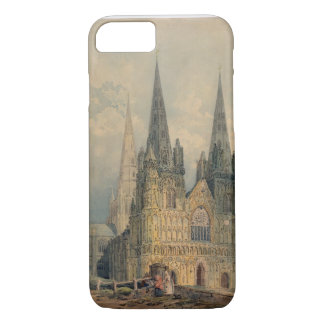 Coque iPhone 7 Cathédrale de Lichfield, le Staffordshire, 1794