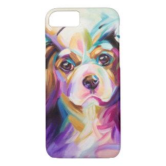 Coque iPhone 7 Cavalier coloré de couverture de téléphone