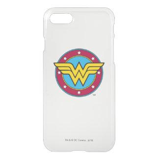 Coque iPhone 7 Cercle de la femme de merveille | et logo