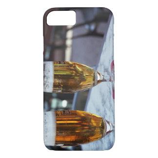 Coque iPhone 7 Chablis ; deux bières fraîches à 42 degrés d'été