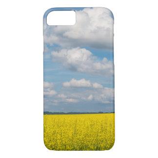 Coque iPhone 7 Champ et nuages de canola