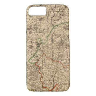 Coque iPhone 7 Champs de bataille et routes français