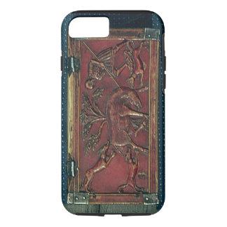 Coque iPhone 7 Chasse à verrat, plaque d'un cercueil bizantin,