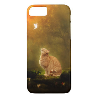 Coque iPhone 7 Chat et fée