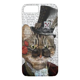 Coque iPhone 7 Chat félin et casquette supérieur 2 de Phileas