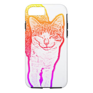 Coque iPhone 7 Chat heureux
