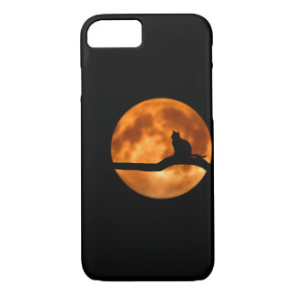 Coque iPhone 7 Chat Phonecase de lune