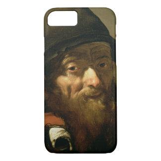 Coque iPhone 7 Chef d'un vieil homme, détail de portrait d'un