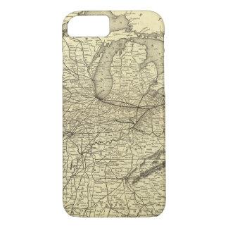 Coque iPhone 7 Chemin de fer de New York, de la Pennsylvanie et