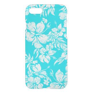 Coque iPhone 7 Chemise florale hawaïenne de Pareau de ketmie