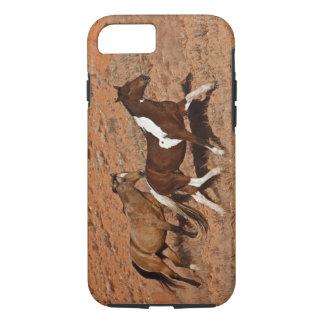 Coque iPhone 7 Chevaux errant la TA de Big Horn de Shell Wyoming