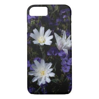 Coque iPhone 7 Chicorée et fleurs sauvages de Phacelia