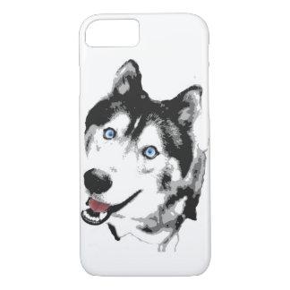 Coque iPhone 7 Chien de traîneau de cas de téléphone