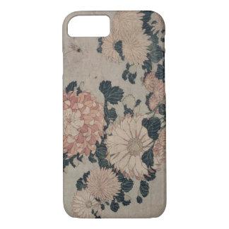 Coque iPhone 7 Chrysanthèmes (bois de graveur de couleur)