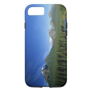 Coque iPhone 7 Cintrez la rivière près du parc national de Banff
