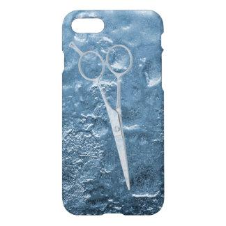 Coque iPhone 7 Ciseaux dans le coiffeur de glace