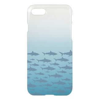 Coque iPhone 7 Clairement cas de l'iPhone 7 de poissons d'océan