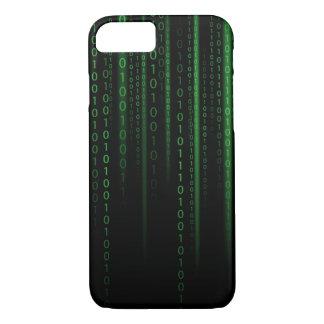 Coque iPhone 7 Code de Matrix