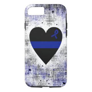 Coque iPhone 7 Coeur mince de Blue Line