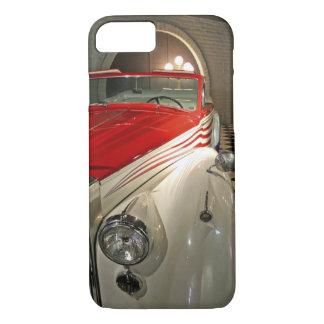 Coque iPhone 7 Collection de voiture dans la base de Liberace et