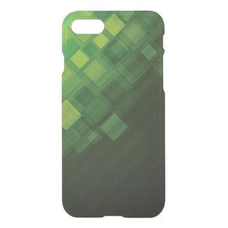 Coque iPhone 7 Conception abstraite verte de technologie