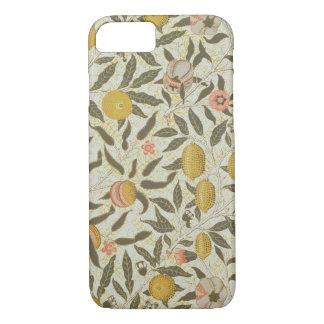 Coque iPhone 7 Conception de papier peint de fruit ou de grenade