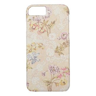 Coque iPhone 7 Conception florale avec des pivoines, des lis et