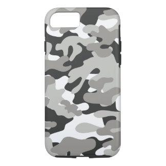 Coque iPhone 7 Conception noire et grise de Camo