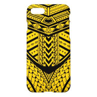 Coque iPhone 7 Conception Samoane tribale de tatouage dans la