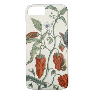 """Coque iPhone 7 Consoude, """"d'un de fines herbes curieux"""", 1782"""