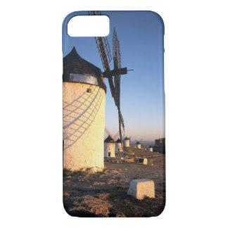 Coque iPhone 7 Consuegra, La Mancha, Espagne, moulins à vent