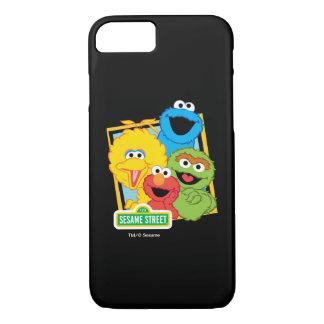 Coque iPhone 7 Copains de Sesame Street