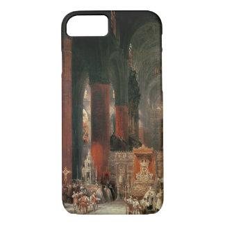 Coque iPhone 7 Cortège dans la cathédrale de Séville, 1833 (huile