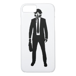 Coque iPhone 7 Costume de mode de pilote d'avion de chasse