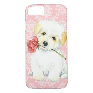 Coque iPhone 7 Coton rose de Valentine