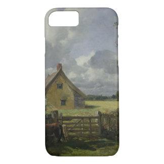 Coque iPhone 7 Cottage dans un champ de maïs, 1833