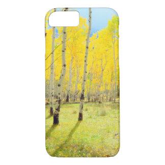 Coque iPhone 7 Couleurs de chute des arbres 4 d'Aspen