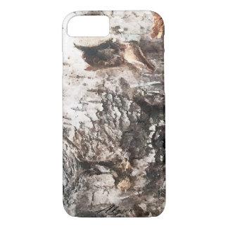 Coque iPhone 7 Couverture de téléphone d'écorce de bouleau