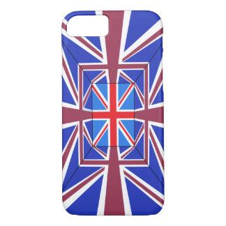 Coque iPhone 7 Couverture de téléphone d'Union Jack